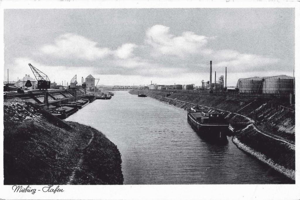 Der Misburger Hafen Ende der 1930er Jahre
