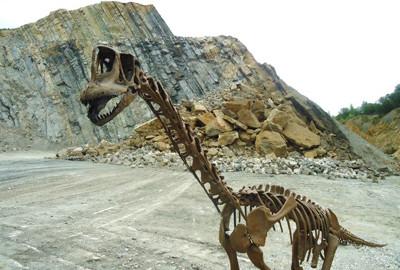Ein Dino vom Langenberg